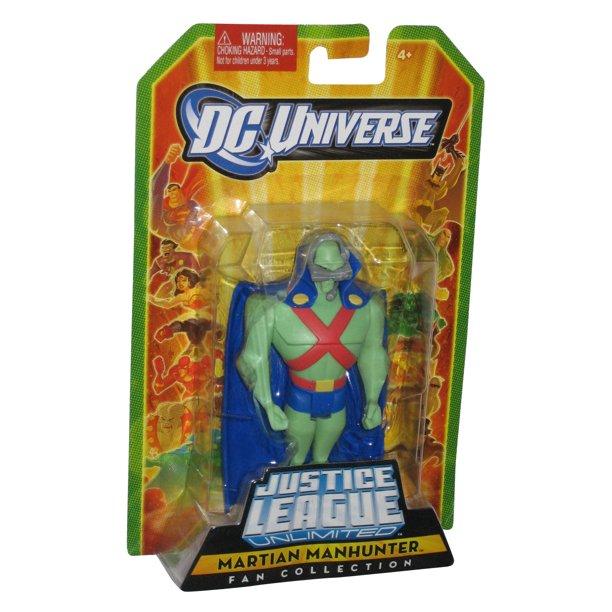 Dc Universe Justice League Unlimited Fan Collection Martian Manhunter Figure Walmart Com Walmart Com