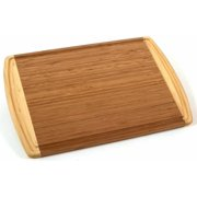 Kona Groove Cutting Board, Multi Functional Bamboo Carving, Cutting and Serving Board; 100% Organic Bamboo; Extremely Strong & Durable; Perfect for.., By Totally Bamboo