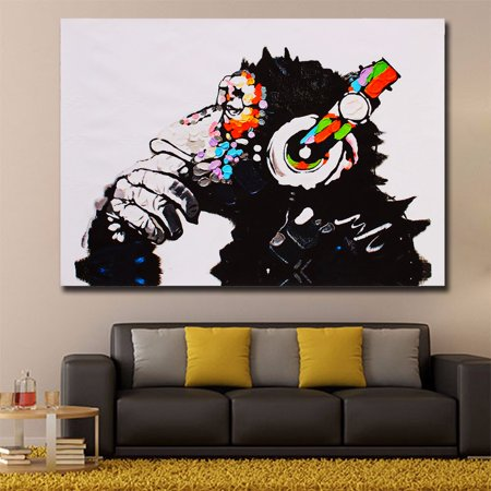 Canvas For Painting - 75 X 50cm Details about Unframed Canvas Prints Modern Home Decor Wall Art Painting Picture-DJ MONKE For Living Room