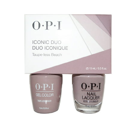 OPI Iconic Duo GelColor Soak-Off Gel Polish + Nail Lacquer
