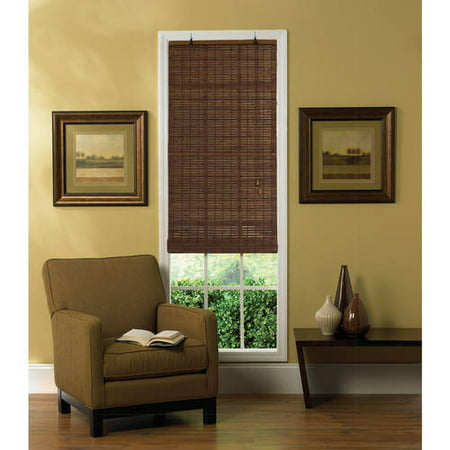 radiance venezia natural woven bamboo roll up shades. Black Bedroom Furniture Sets. Home Design Ideas