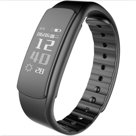 Xoombot I3hr Ip67 Waterproof Bluetooth Smart Watch Fitness Bracelet With Heart Rate Monitor