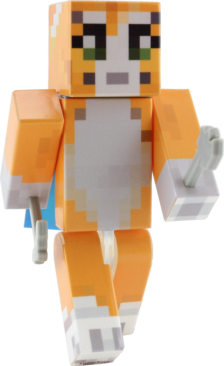 Orange Cat Action Figure Toy by EnderToys [Not an official Minecraft product] by Seus Corp Ltd.