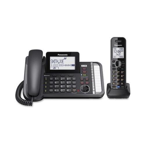 Panasonic Link2Cell KX-TG9581B DECT 6.0 Cordless Phone - Black PANKXTG9581B