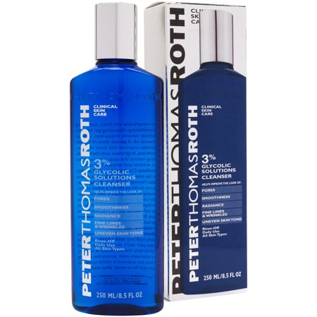 Peter Thomas Roth 3% Glycolic Solutions Cleanser 8.5 oz - New in -