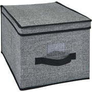 Simplify Storage Box, Large, Black