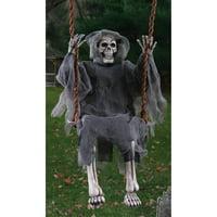 "36"" Swinging Reaper Halloween Decoration"