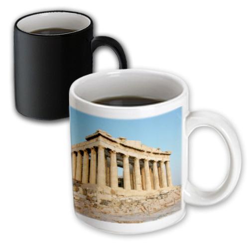 3dRose Aristotle statue, Greek Philosopher, Athens, Greece - HI02 PRI0003 - Prisma, Magic Transforming Mug, 11oz