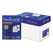 "Navigator Premium Multipurpose Paper, 8-1/2"" x 11"", 99 Brightness, 5000 Sheets/Carton"