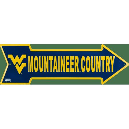 University of West Virginia arrow - Old West Sign