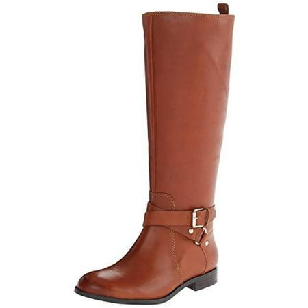 Enzo Angiolini Womens Daniana Leather Knee High Riding Boots - Walmart.com b59daf289