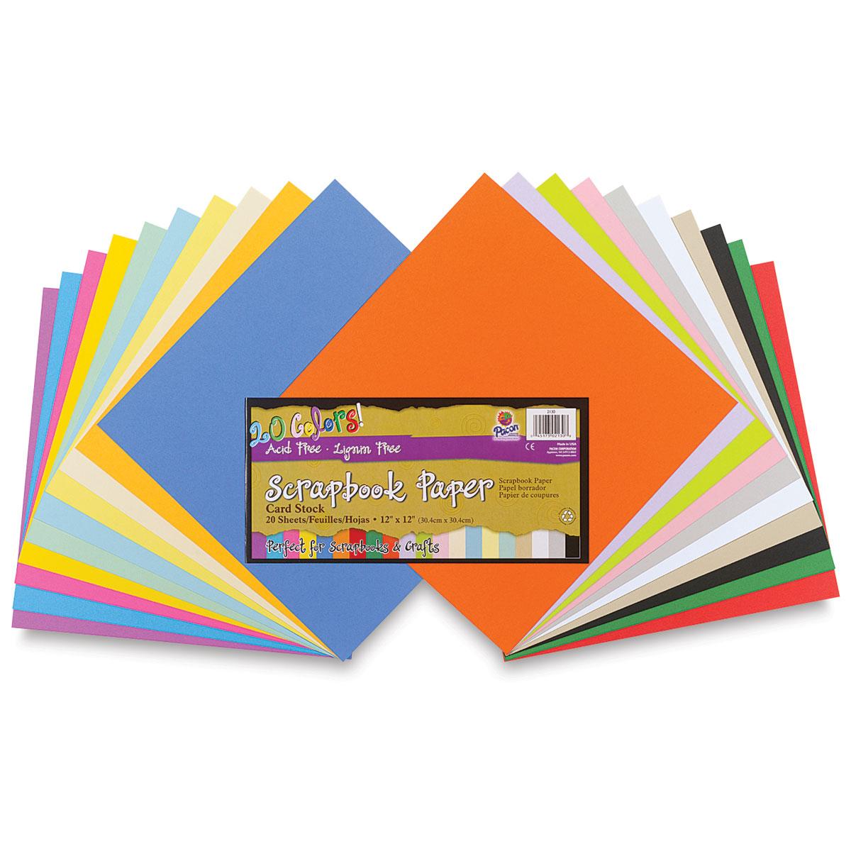 Pacon Scrapbook Paper