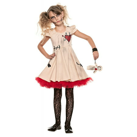 Voodoo Doll Child Costume - Small (Voodoo Doll Halloween Costumes)