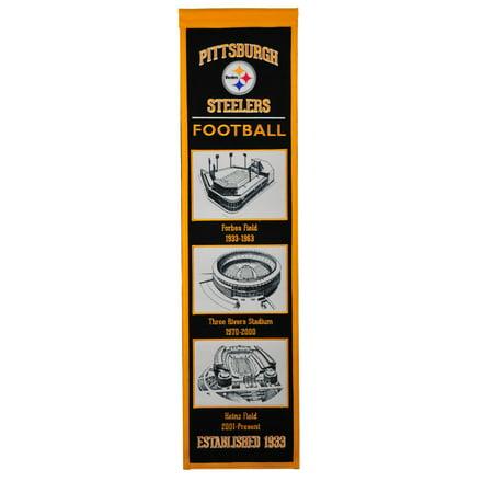 Winning Streak - NFL Evolution Banner, Pittsburgh - Steelers Decor