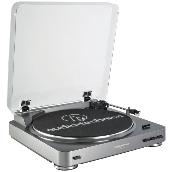 Audio-Technica AT-LP60 Fully Automatic Belt-Drive Turntab...