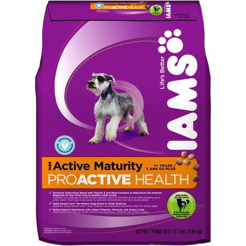 Iams ProActive Health Dry Dog Food - Active Maturity Formula, 17.5lb Bag