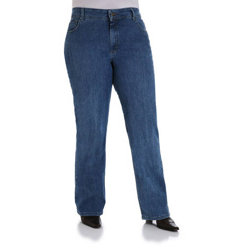 Riders by Lee Women's Plus-Size Relaxed Fit Straight-Leg Jeans ...