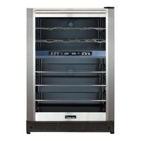 Magic Chef Dual Zone Built-in Wine and Beverage Cooler, 39 Degree