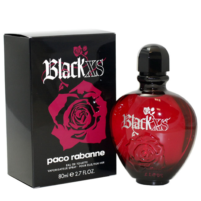 Black Xs Eau De Toilette Spray 2.7 Oz / 80 Ml