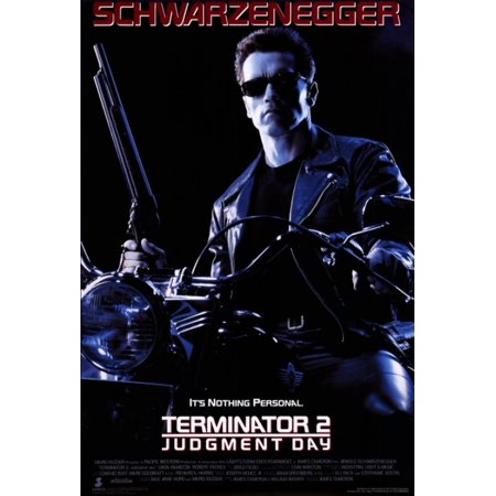 - Terminator 2 Judgment Day Movie Poster Print (27 x 40)