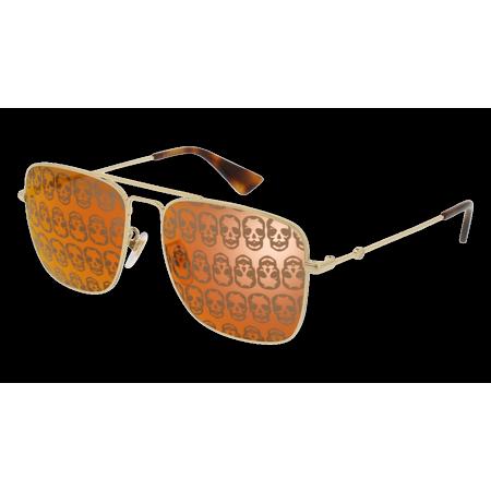 9f9716443d5 Gucci - GG0108S-002 Gold 55mm Gucci GG0108S Urban Navigator Man Sunglasses  - Walmart.com