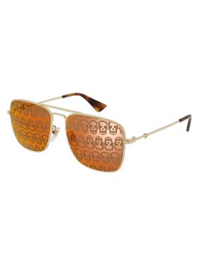 32e091fa95a Product Image GG0108S-002 Gold 55mm Gucci GG0108S Urban Navigator Man  Sunglasses