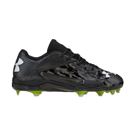 44ac184433 UNDER ARMOUR DECEPTION LOW DT BLK/CARB MENS METAL BASEBALL CLEATS US 13 M,  EU 47.5