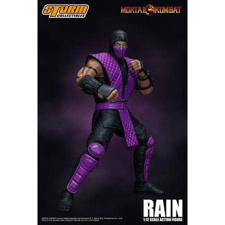 Storm Collectibles Mortal Kombat Rain NYCC Exclusive 1/12 Action Figure