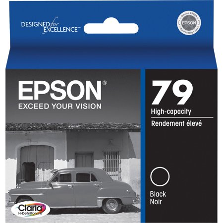 Epson, EPST079120, T079120 Series Ink Cartridges, 1 / Each