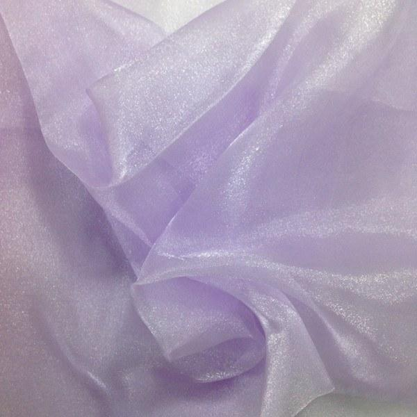 Sparkle Crystal Sheer Organza Fabric Shiny for Fashion, Crafts, Decorations 60 (White)