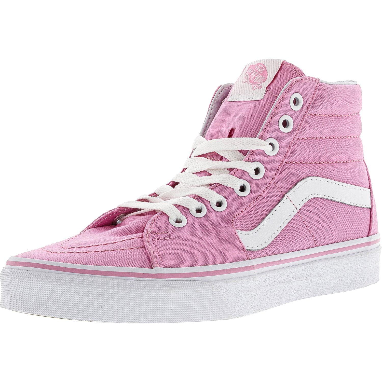 pink high top vans mens