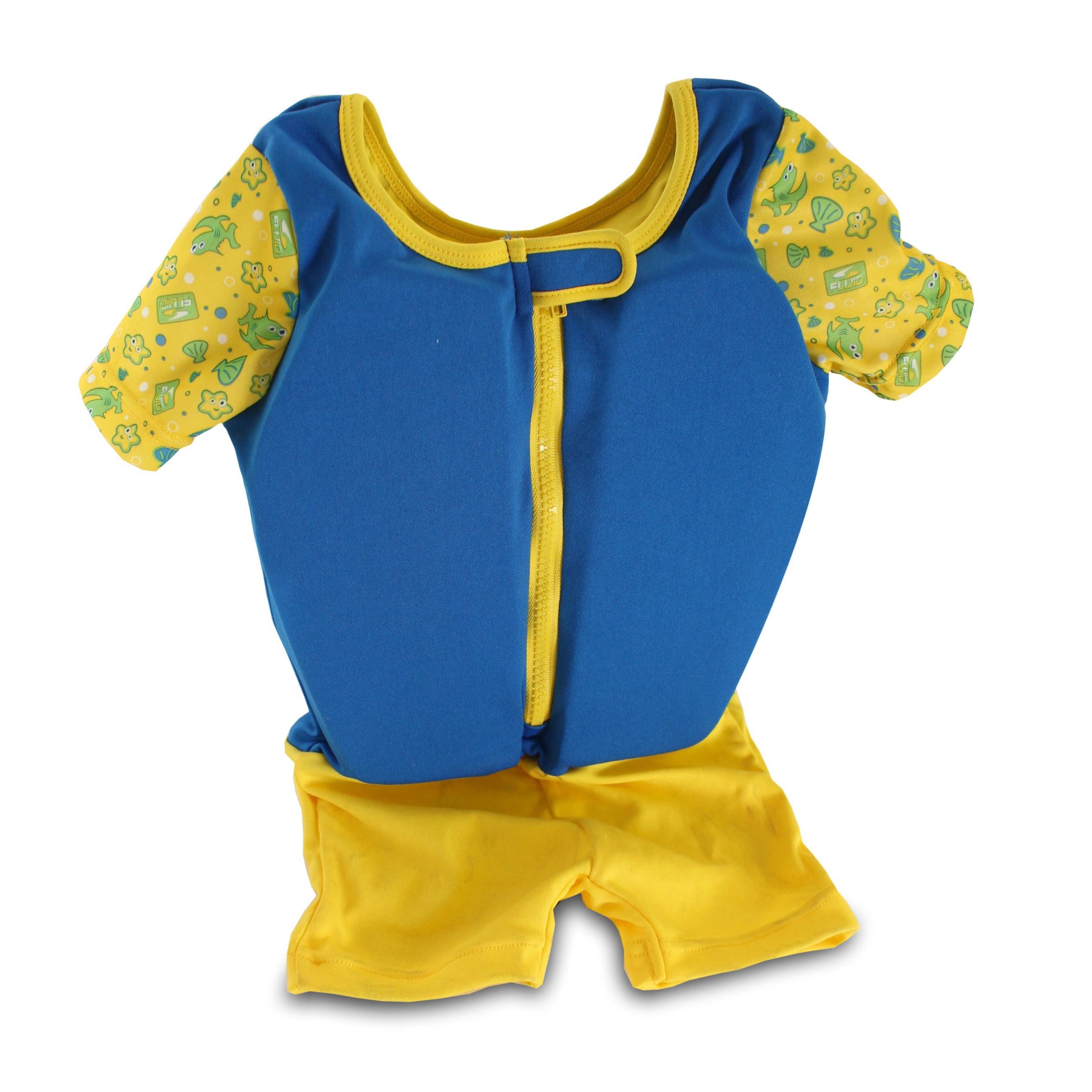 Kids Stuff Body Glove Swim Training Float Blue Suit Medium Large 33-55 lbs by