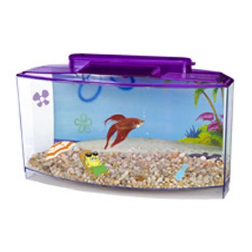 Penn Plax SpongeBob Large Betta-Bow Front Kit