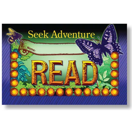NST2418 - Seek Adventure Read Incentive Punch Cards by North Star Teacher Resource (Behavior Punch Cards)