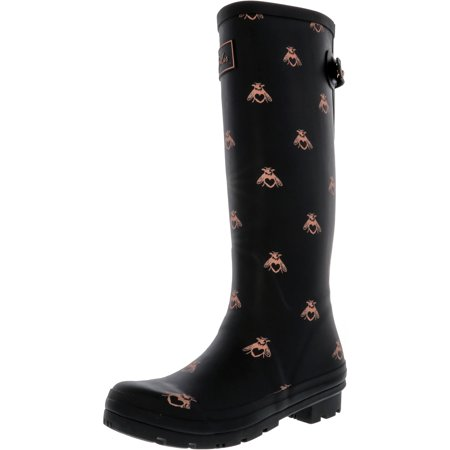 Joules Women's Welly Print Knee-High Boots