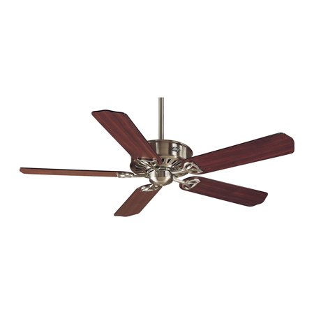 Hunter 23254 Paramount 54 Inch 5 Blade Reversible Ceiling Fan, Cherry/Chestnut Reversible Wood Blades