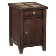 Magnussen Allister Wood Square Accent Table