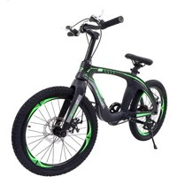 Nice C BMX Bike, Mountain Bike, 20 Cycle Bicycle with Dual Disc Brakes, Ultralight for Boys and Girls
