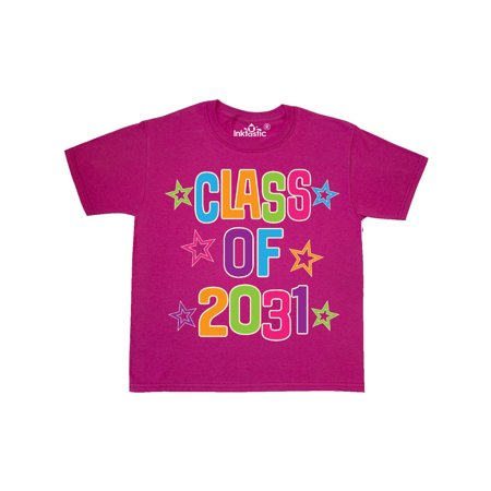 Class Of 2031 Kindergarten School Youth T-Shirt (Halloween Craft Kindergarten Class)