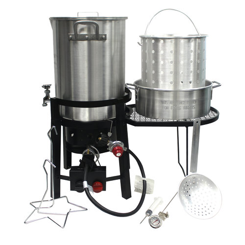 Grillsmith Ultimate Turkey Fryer W/rotary Ignition