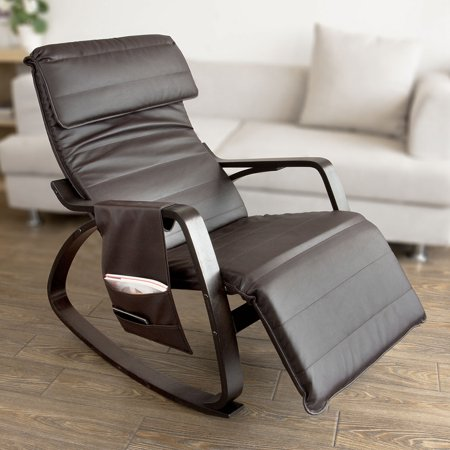 Haotian Comfortable Relax Rocking Chair with Foot Rest ...