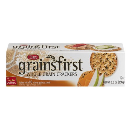 Dare Grains First Whole Grain Crackers, 8.8 Oz. ()