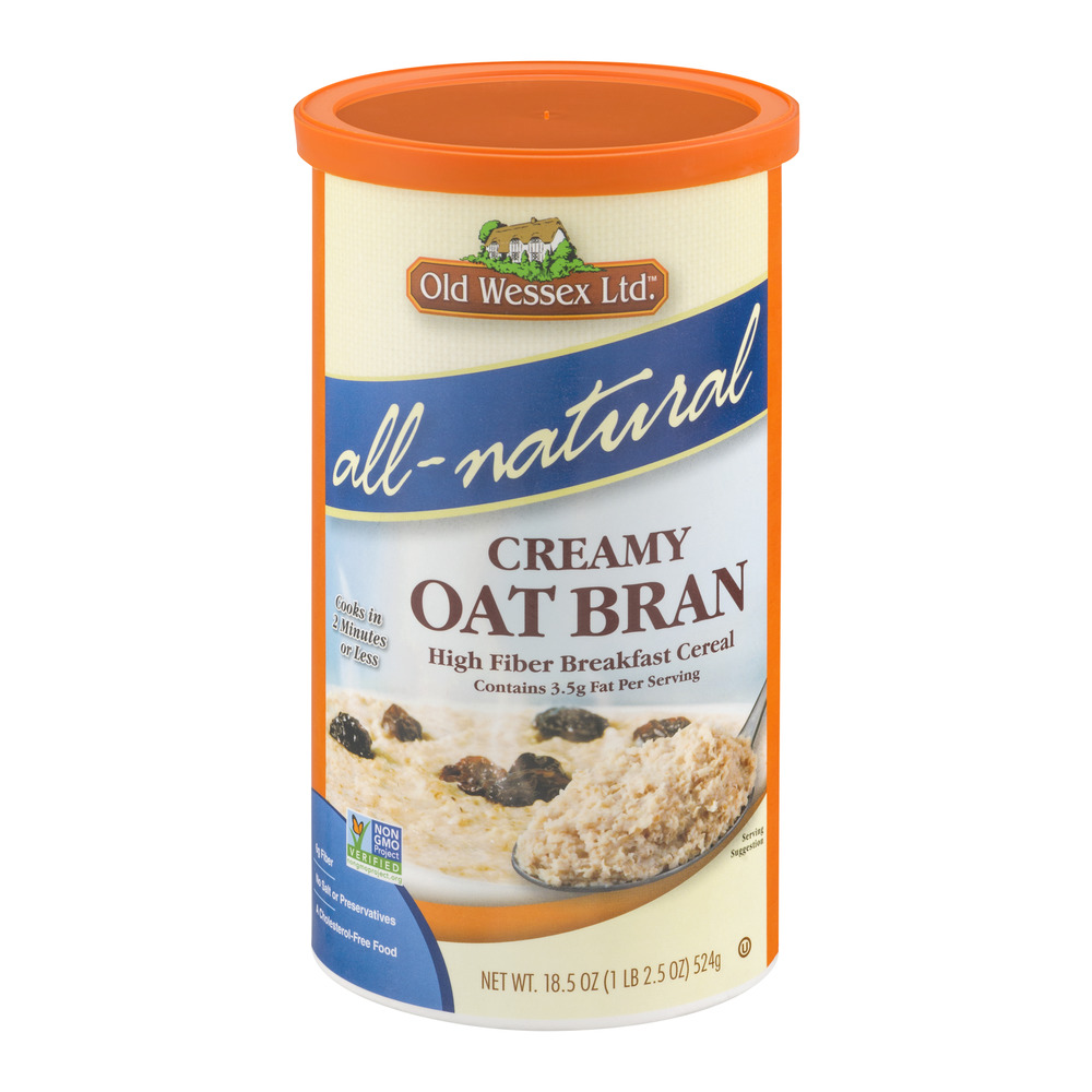 Old Wessex Ltd.All-Natural Creamy Oat Bran High Fiber Bre...