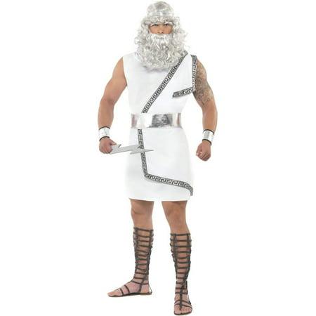 Deluxe Zeus Adult Costume](Boys Zeus Costume)