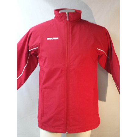 Bauer Youth Insulated Jacket, Red Small