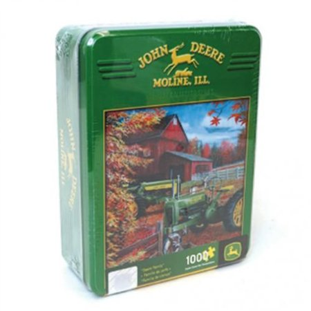 1000 Piece Puzzle With Collectible Tin - Deere Family, John Deere