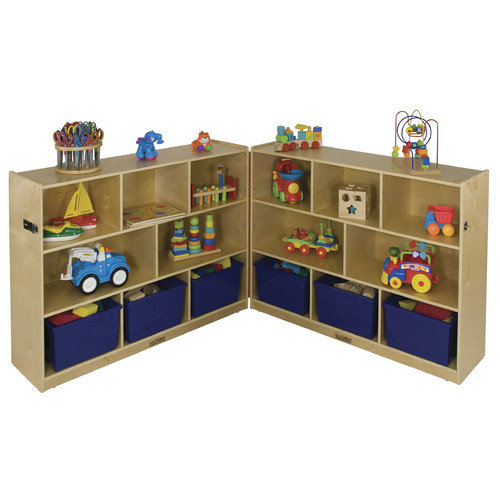 ECR4Kids 36'' Fold and Lock Cabinet