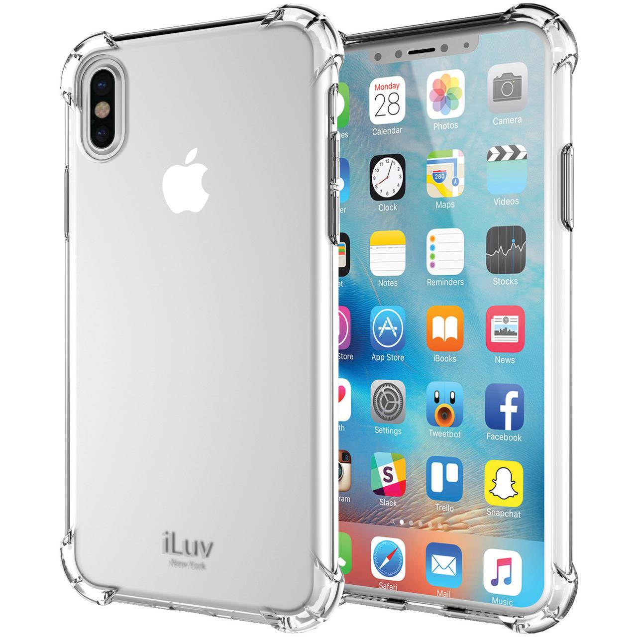 iLuv ILVAIXGELACL Gelato Case for iPhone X (Clear)