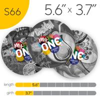 MyONE Condoms Size S66, 6-Count