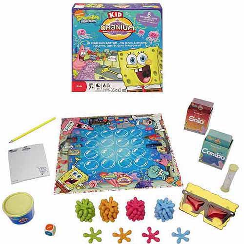 Hasbro Sponge Bob Kids Cranium